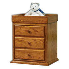 Load image into Gallery viewer, Amish USA Made Handcrafted Traditional Nightstand with Changing Table sold by Online Amish Furniture LLC