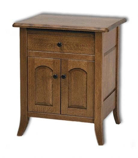 Amish USA Made Handcrafted Bunker Hill Nightstand sold by Online Amish Furniture LLC