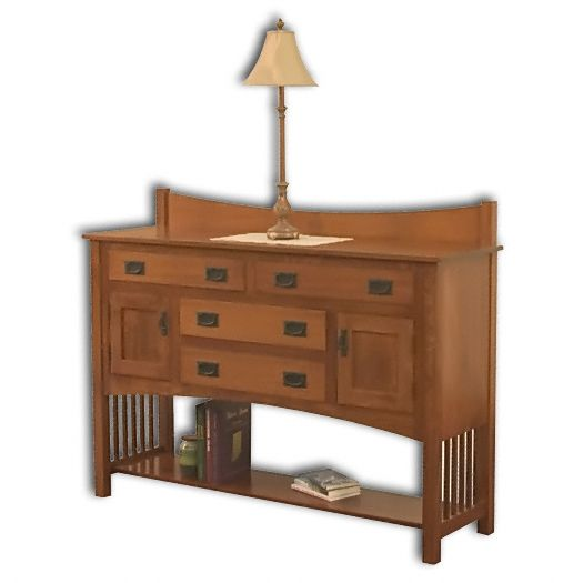 Amish USA Made Handcrafted Perlon Sideboard sold by Online Amish Furniture LLC