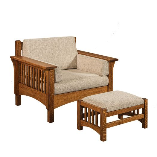 Amish USA Made Handcrafted Pioneer Chair sold by Online Amish Furniture LLC