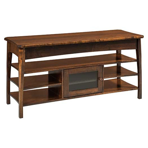 Amish USA Made Handcrafted Perry TV Stands sold by Online Amish Furniture LLC