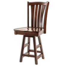 Load image into Gallery viewer, Amish USA Made Handcrafted Harris Bar Stool sold by Online Amish Furniture LLC