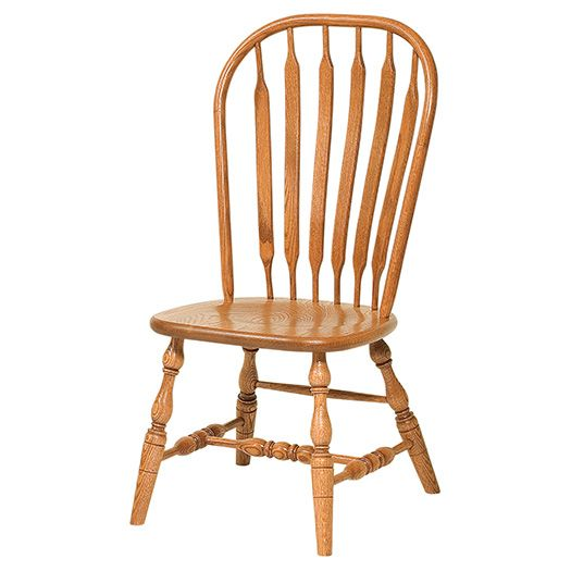 Amish USA Made Handcrafted Jumbo Bent Paddle Chair (Deep Scoop) sold by Online Amish Furniture LLC
