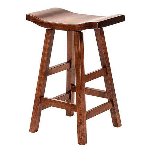 Amish USA Made Handcrafted Portage Barstool sold by Online Amish Furniture LLC