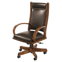 Load image into Gallery viewer, Amish USA Made Handcrafted Wyndlot Desk Chair sold by Online Amish Furniture LLC