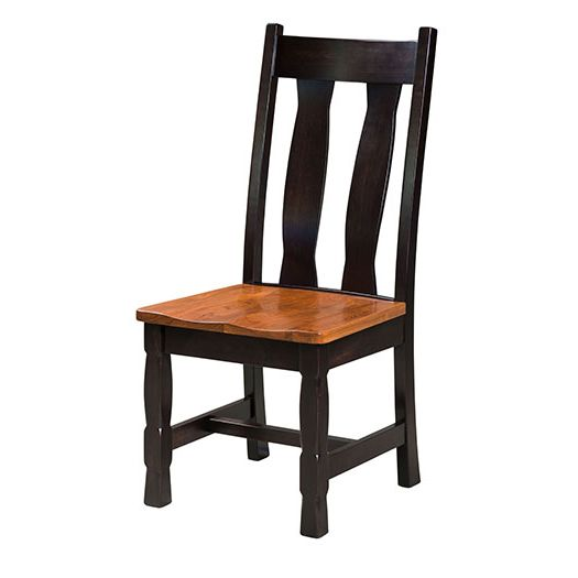 Amish USA Made Handcrafted Rock Island Chair sold by Online Amish Furniture LLC