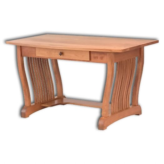 Amish USA Made Handcrafted Royal Mission Pencil Desk sold by Online Amish Furniture LLC
