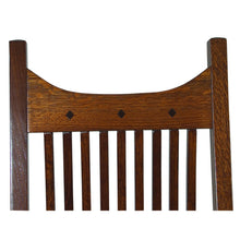 Load image into Gallery viewer, Amish USA Made Handcrafted Royal Mission Rocker sold by Online Amish Furniture LLC