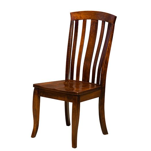 Amish USA Made Handcrafted Saratoga Chair sold by Online Amish Furniture LLC