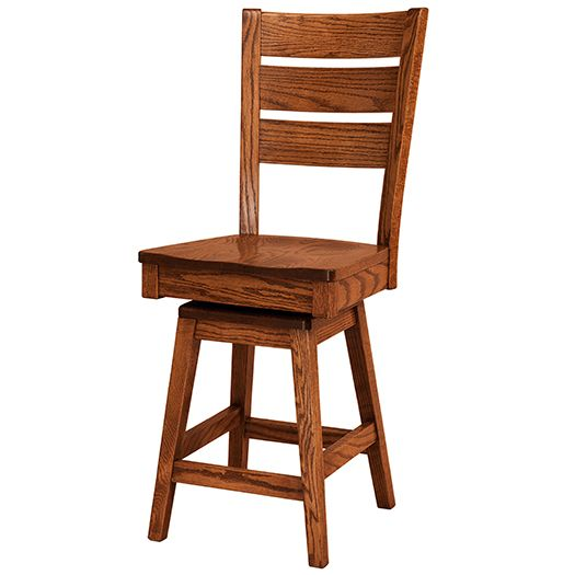 Amish USA Made Handcrafted Savannah Bar Stool sold by Online Amish Furniture LLC