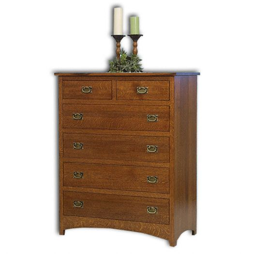 Amish USA Made Handcrafted Mission Grand Chest sold by Online Amish Furniture LLC
