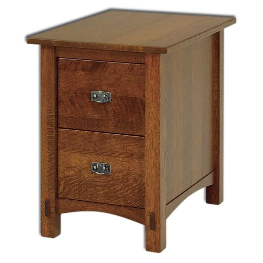 Amish USA Made Handcrafted Springhill 2-Drawer File Cabinet sold by Online Amish Furniture LLC