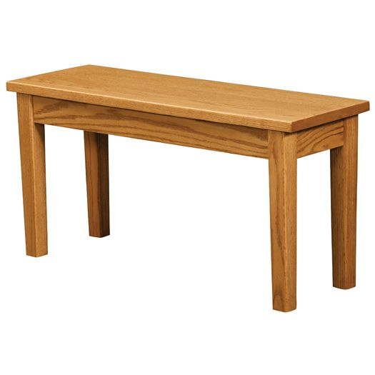 Amish USA Made Handcrafted Shaker Extenda Bench sold by Online Amish Furniture LLC