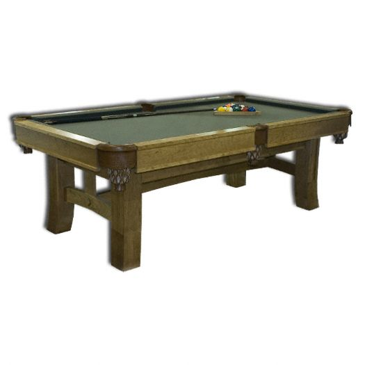 Amish USA Made Handcrafted Shaker Hill Billiard Pool Table sold by Online Amish Furniture LLC