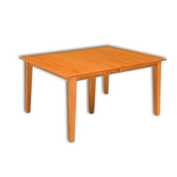 Amish USA Made Handcrafted Shaker Mission Leg Table sold by Online Amish Furniture LLC