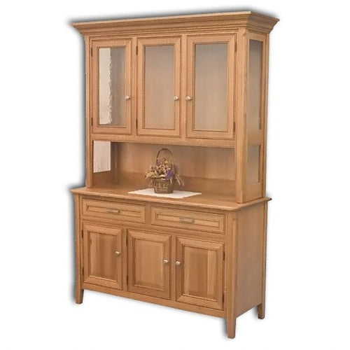 Amish USA Made Handcrafted Siesta Hutch sold by Online Amish Furniture LLC