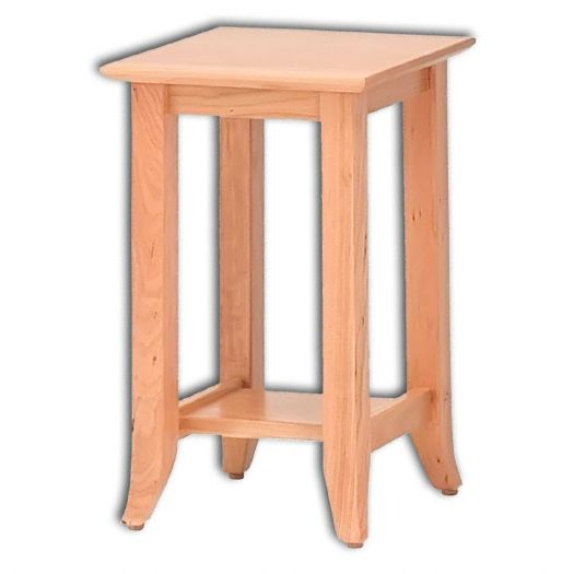 Amish USA Made Handcrafted Shaker Hill Plant Stand sold by Online Amish Furniture LLC