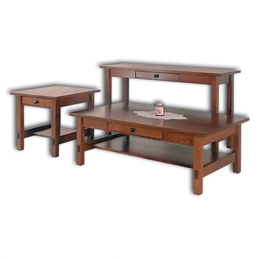 Amish USA Made Handcrafted SpringHill Open Tables sold by Online Amish Furniture LLC