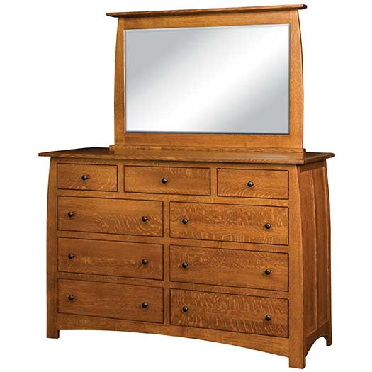 Amish USA Made Handcrafted Superior Shaker Dressers sold by Online Amish Furniture LLC