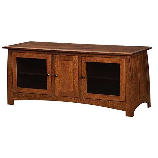 Amish USA Made Handcrafted Superior Shaker Plasma TV Stands sold by Online Amish Furniture LLC