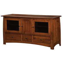 Load image into Gallery viewer, Amish USA Made Handcrafted Superior Shaker Plasma TV Stands sold by Online Amish Furniture LLC