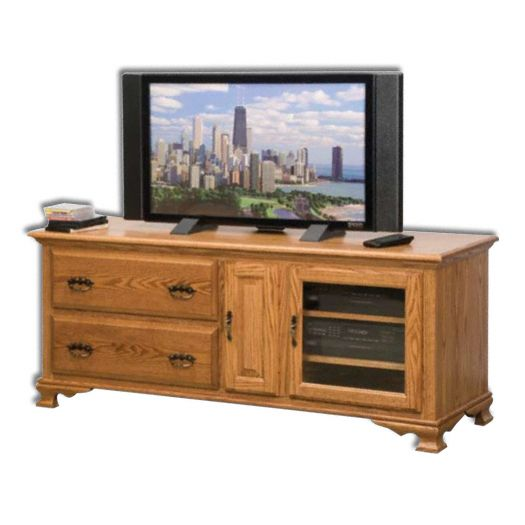 Amish USA Made Handcrafted Heritage 65 Plasma LCD Unit SWE065H sold by Online Amish Furniture LLC