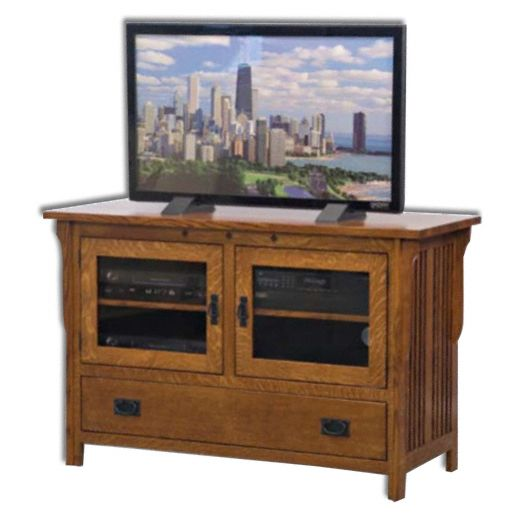 Amish USA Made Handcrafted Royal Mission 50 1-2 Plasma LCD Stand sold by Online Amish Furniture LLC