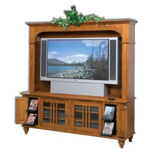 Load image into Gallery viewer, Amish USA Made Handcrafted Harvest 65 Plasma LCD TV Stand sold by Online Amish Furniture LLC