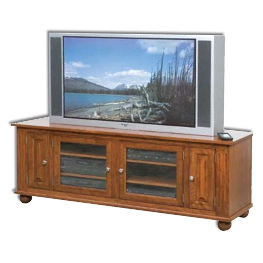 Amish USA Made Handcrafted Larson 65 Plasma LCD TV Stand sold by Online Amish Furniture LLC
