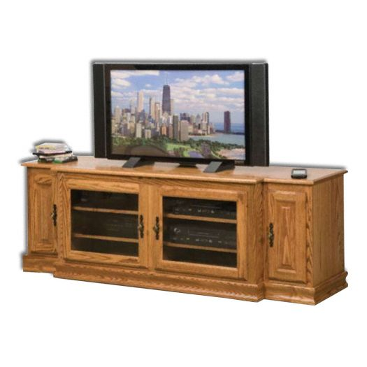 Amish USA Made Handcrafted Heritage 74 Plasma LCD Unit sold by Online Amish Furniture LLC