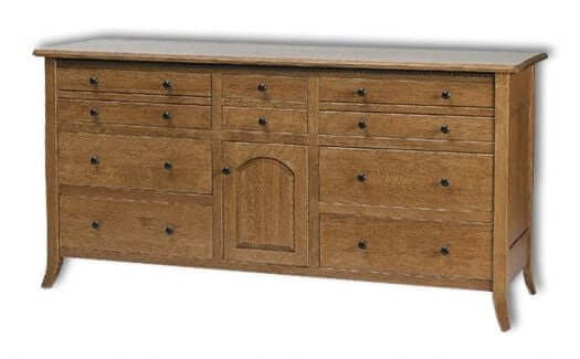 Amish USA Made Handcrafted Bunker Hill 72W Dresser sold by Online Amish Furniture LLC