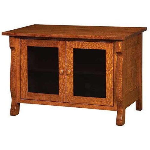 Amish USA Made Handcrafted Wellington Plasma Tv Stand sold by Online Amish Furniture LLC