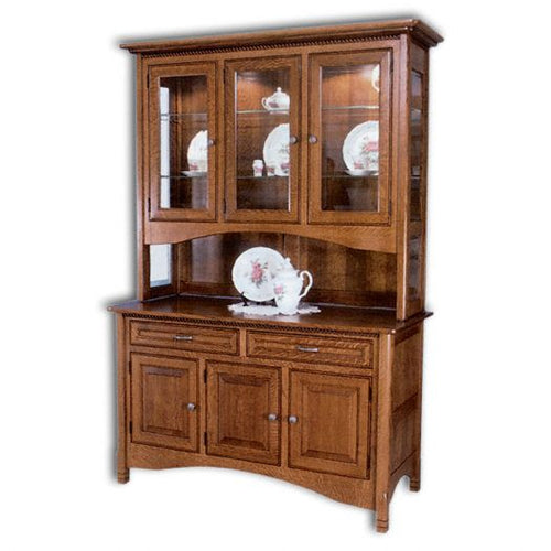 Amish USA Made Handcrafted West Lake Hutch sold by Online Amish Furniture LLC