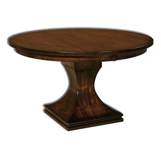 Amish USA Made Handcrafted Westin Pedestal Table sold by Online Amish Furniture LLC