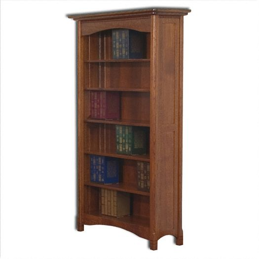 Amish USA Made Handcrafted West Lake Bookcase sold by Online Amish Furniture LLC