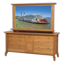 Load image into Gallery viewer, Amish USA Made Handcrafted Grand River Double Dresser sold by Online Amish Furniture LLC