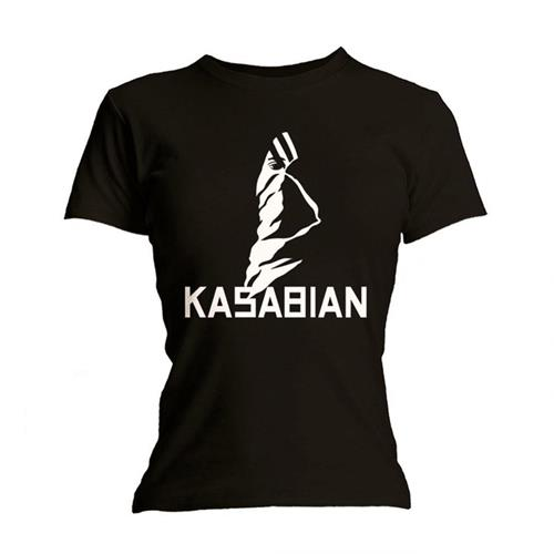 Kasabian: Ultra Black (T-Shirt Donna Tg. M)