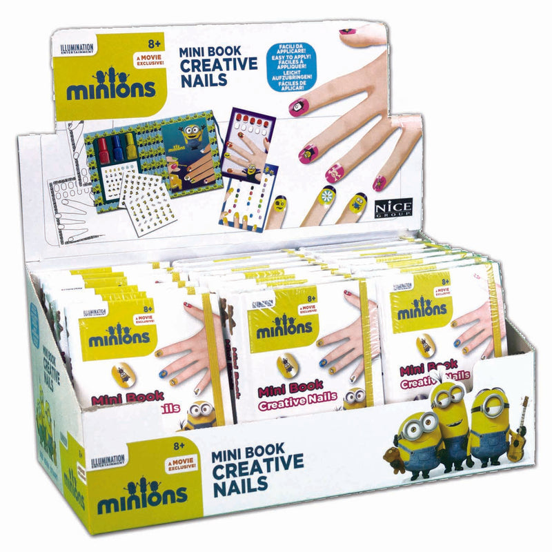 Minions - Mini Book Creative Nails (Assortimento)