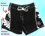Girl Board short - Black