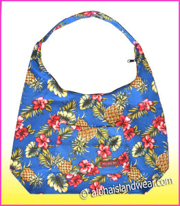Large Hobo Bag w/Top Zipper - 172 Navy