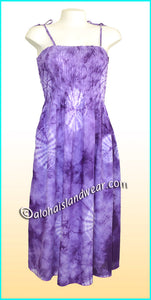 Aloha Beach Dress - 1423 Purple