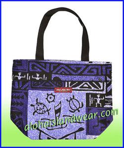 Small Reversible Tote Bag - 261 Purple