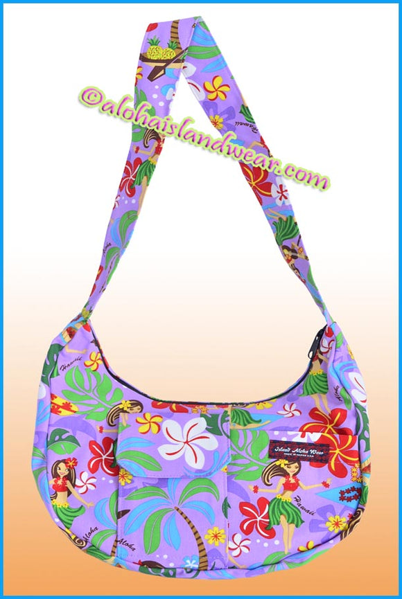 Banana Shaped Aloha Purse - 313 Purple