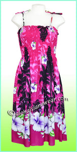 Aloha Beach Dress - 1524 Pink
