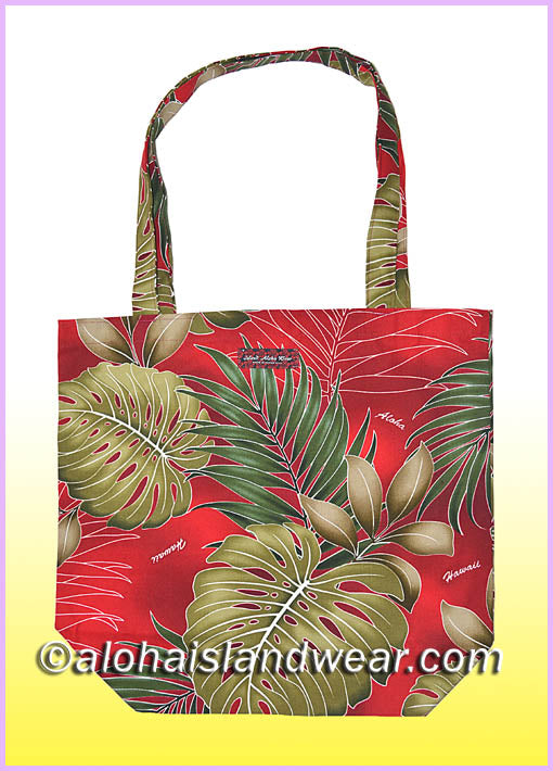 Reusable Grocery Tote Bag - 503 Red
