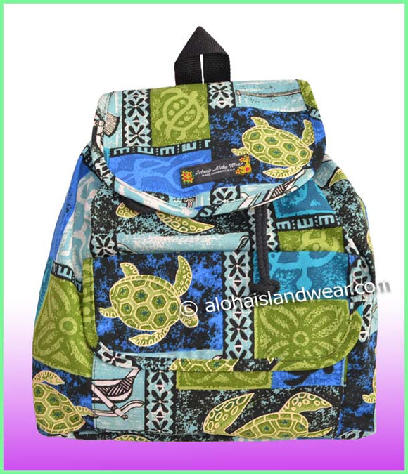 Medium Hawaiian Backpack - 701 Blue