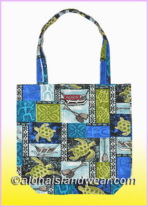 Reusable Grocery Tote Bag - 701 Blue
