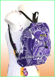 Medium Hawaiian Backpack - 802 Purple