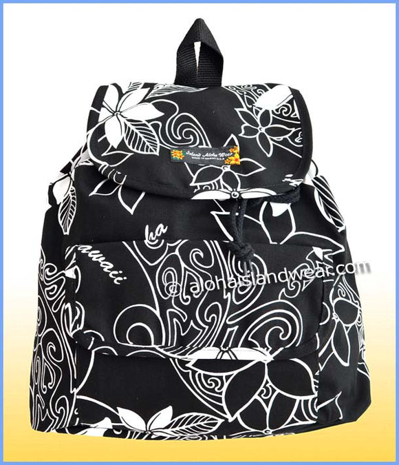 Medium Hawaiian Backpack - 803 black