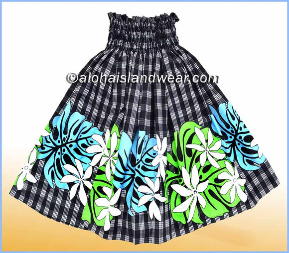 Hula Pa'u Skirt - 2519 Black